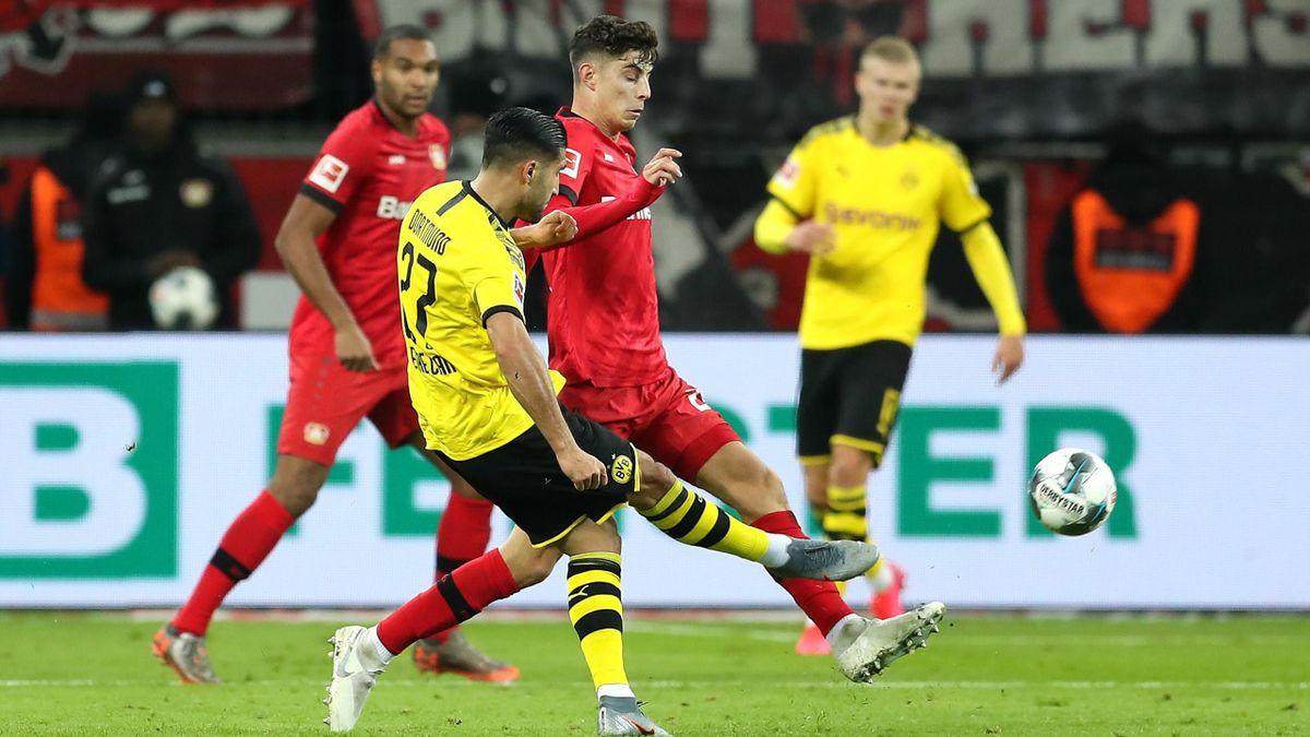 Emre Can, Bayer Leverkusen-Borussia Dortmund