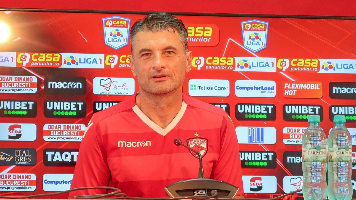 Sorin Colceag, antrenorul interimar al lui Dinamo (sursa foto: Facebook)