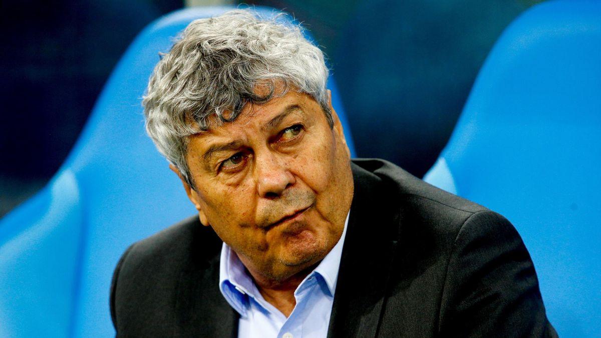 Mircea Lucescu, antrenorul lui Dinamo Kiev