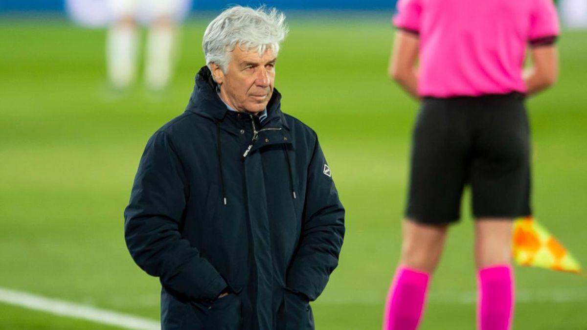 Gasperini - Real Madrid-Atalanta - Champions League 2020-2021