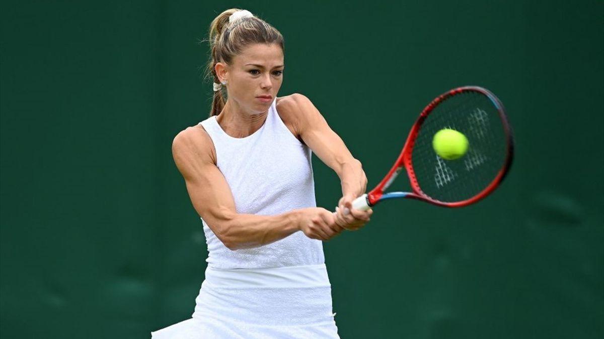 Camila Giorgi - Wimbledon 2021