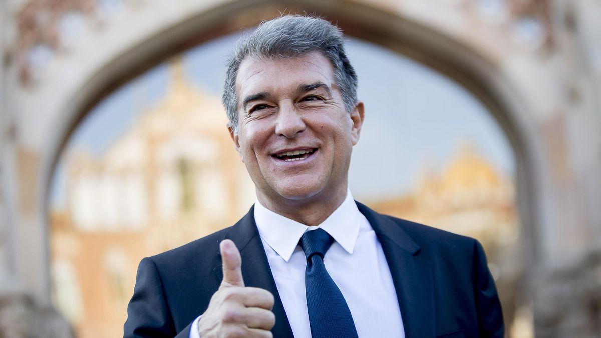 Joan Laporta, candidatul la președinția Barcelonei