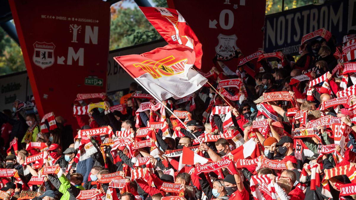 Die Fans von Union Berlin dürfen am Samstag zurück in die Alte Försterei
