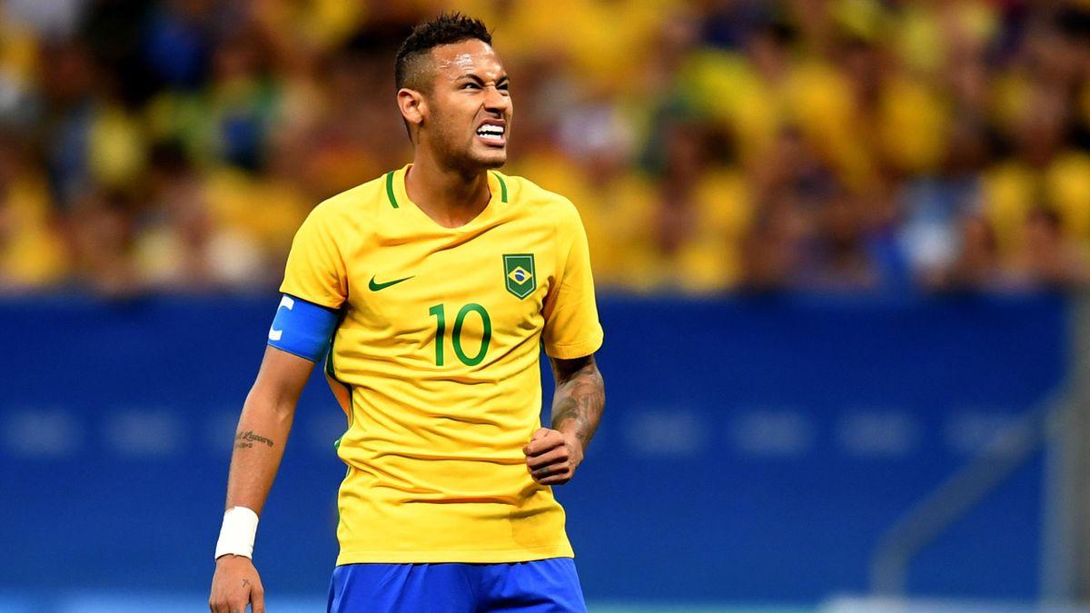 Neymar at the Rio 2016 Olympics
