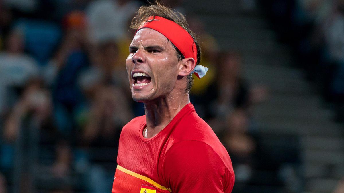 Rafael Nadal at the 2020 ATP Cup