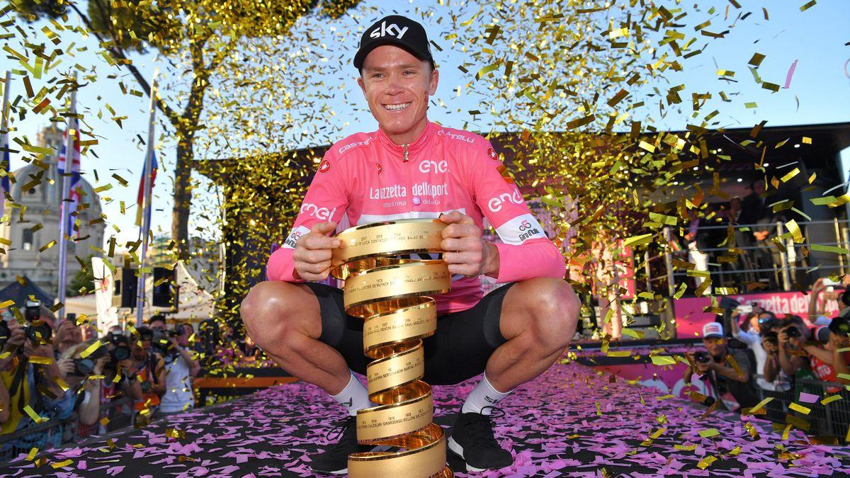 Chris Froome won the 2018 Giro d'Italia