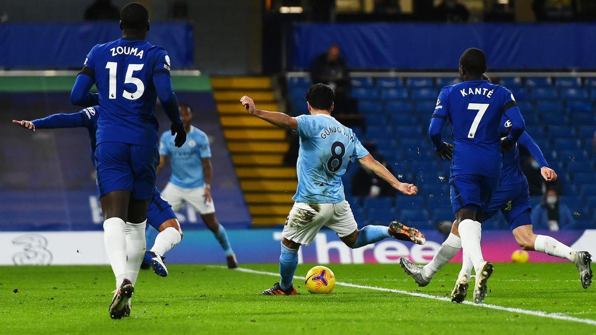 City-Star Gündogan trifft gegen Chelsea