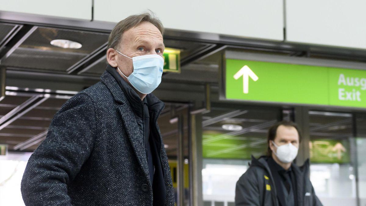BVB-Boss Hans-Joachim Watzke sieht Borussia Dortmund in Deutschland weiterhin vor RB Leipzig