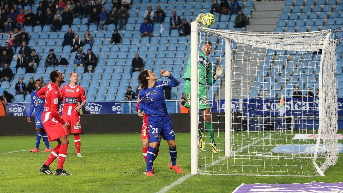 Bastia vs Evian TG - 03/12/2014