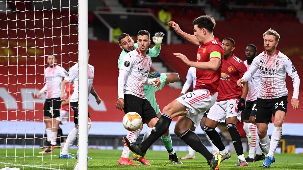 Maguire, ratare incredibilă cu AC Milan