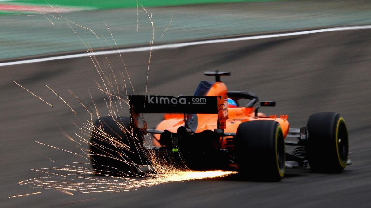 Fernando Alonso (McLaren) - GP of China 2018