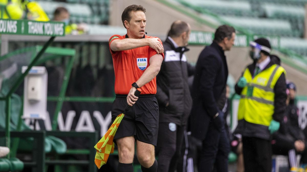 Graeme Stewart officiated a game at the weekend, even though he was meant to be isolating