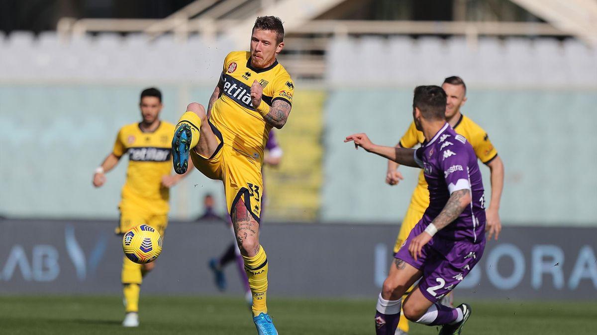 Juraj Kucka, Martinez Quarta, Fiorentina-Parma, Serie A 2020-21, Getty Images