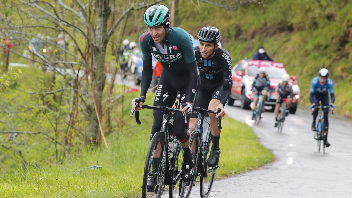 Emanuel Buchmann, Giro 2021   © BORA - hansgrohe / Bettiniphoto & VeloImages