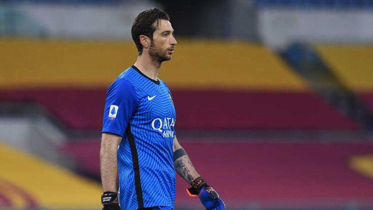 Antonio Mirante con la maglia della Roma - Stagione 2020-21