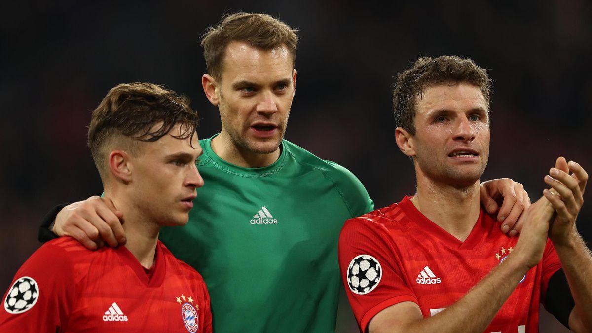 Das Bayern-Trio trainiert erstmals unter Julian Nagelsmann