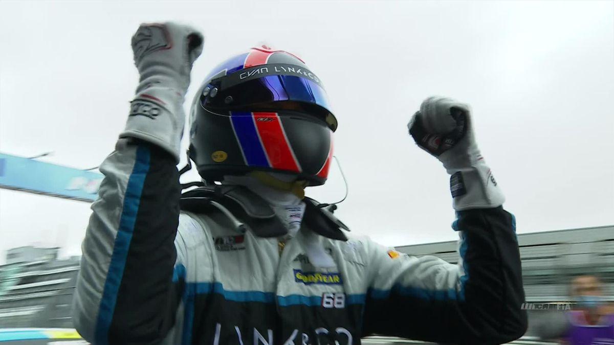Car racing Nurburgring race 2 - Ehrlacher Wins