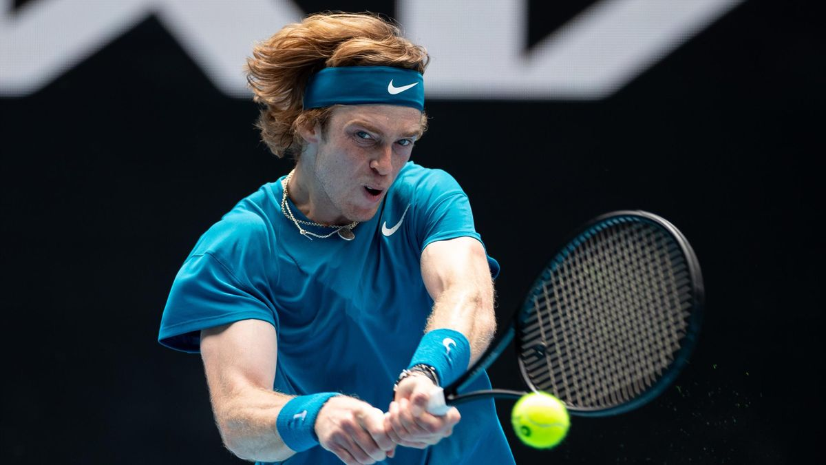 Андрей Рублев, Россия, Australian Open-2021