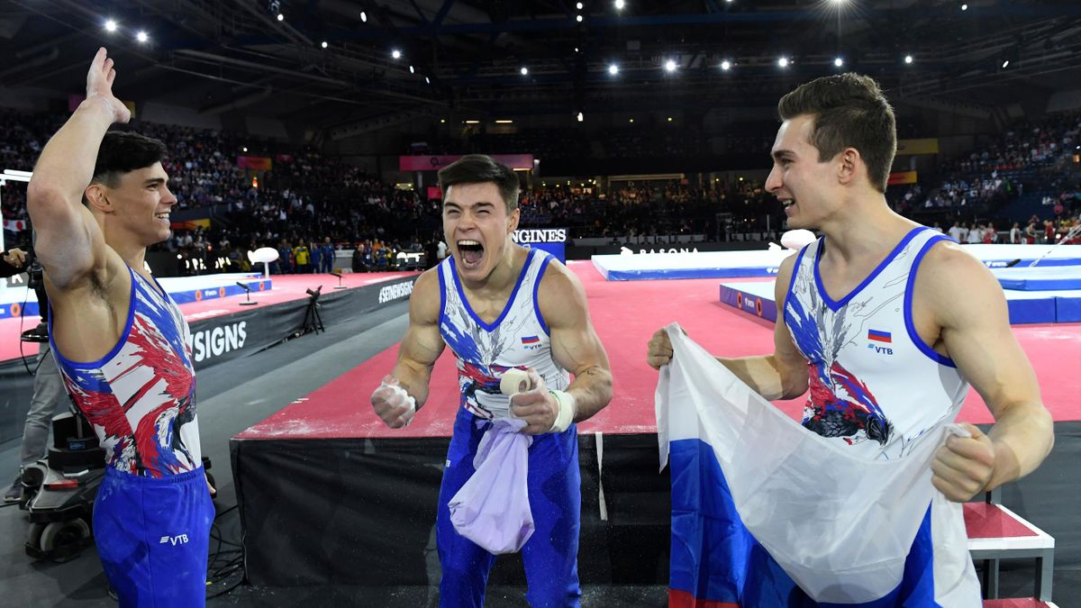 Cборная России по спортивной гимнастике