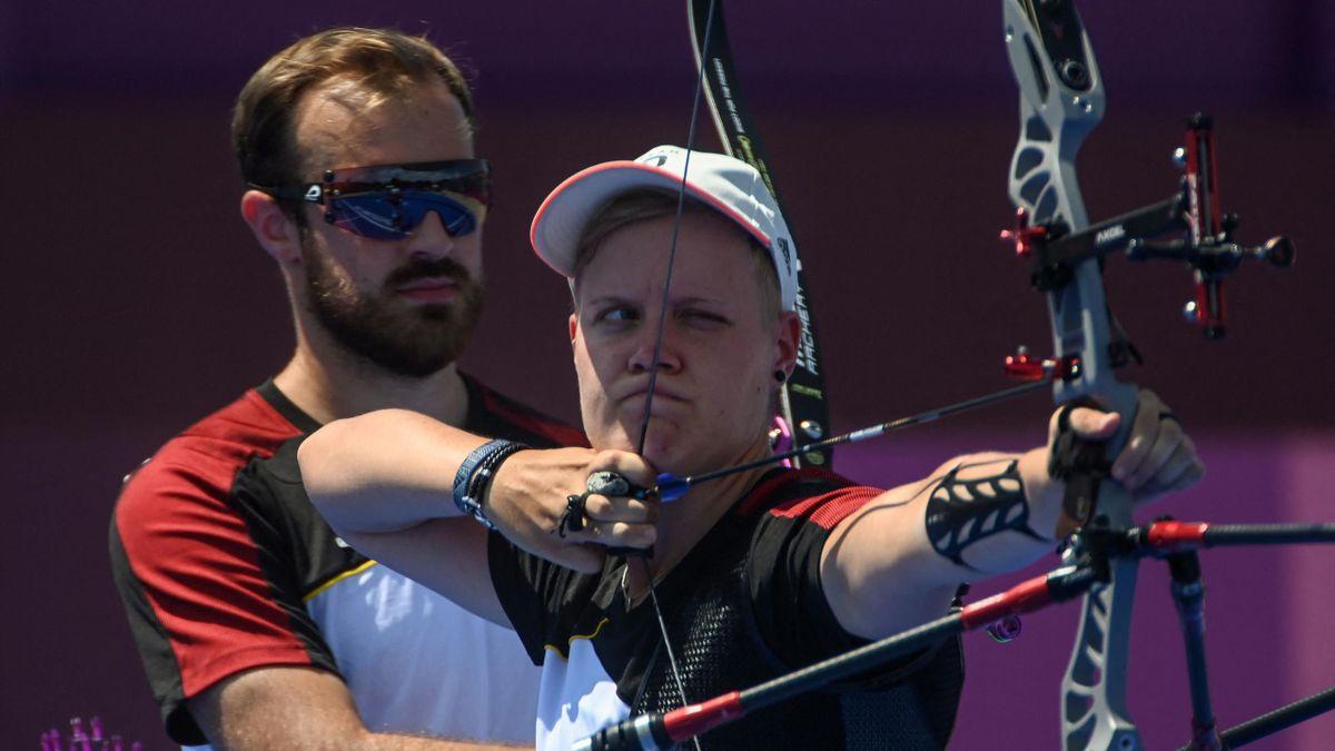 Florian Unruh und Michelle Kroppen