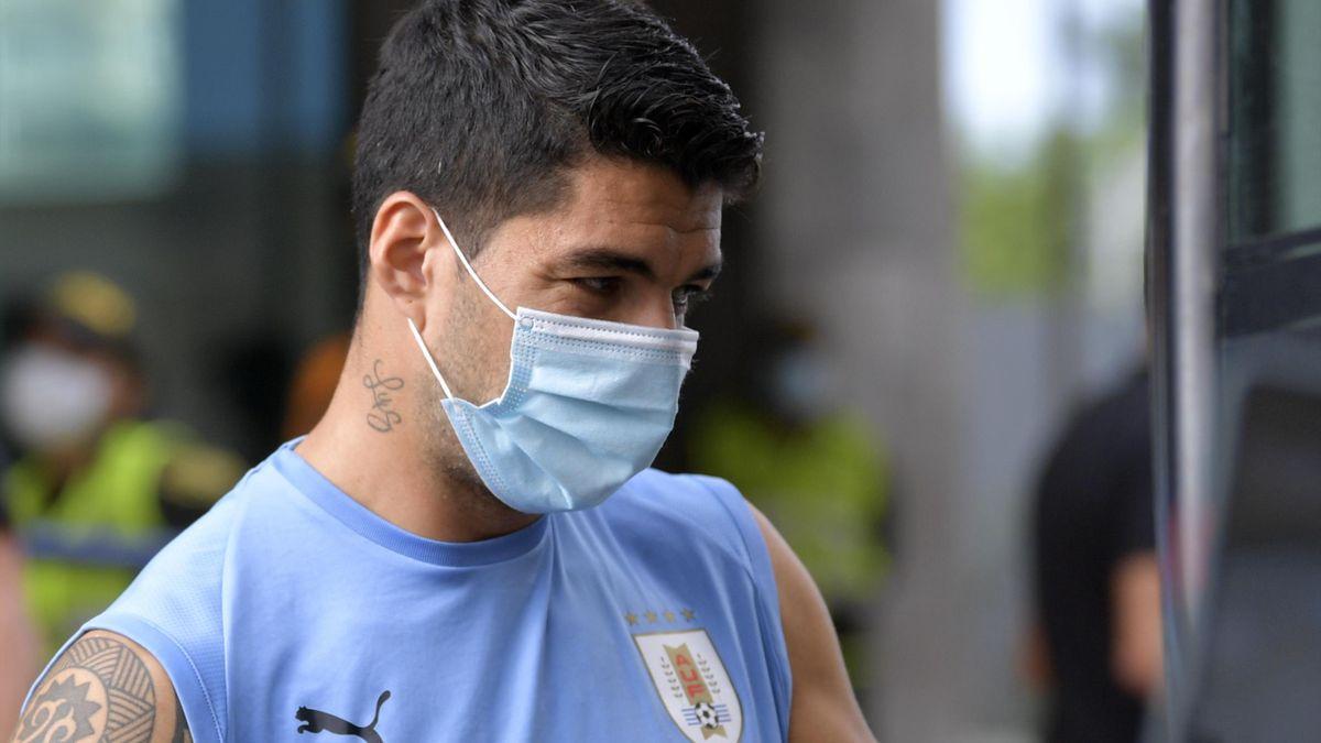 Luis Suarez ist positiv getestet worden