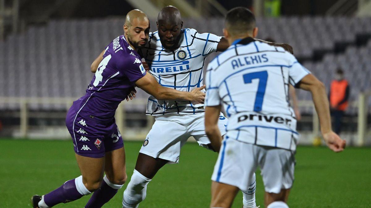 Lukaku in Fiorentina-Inter