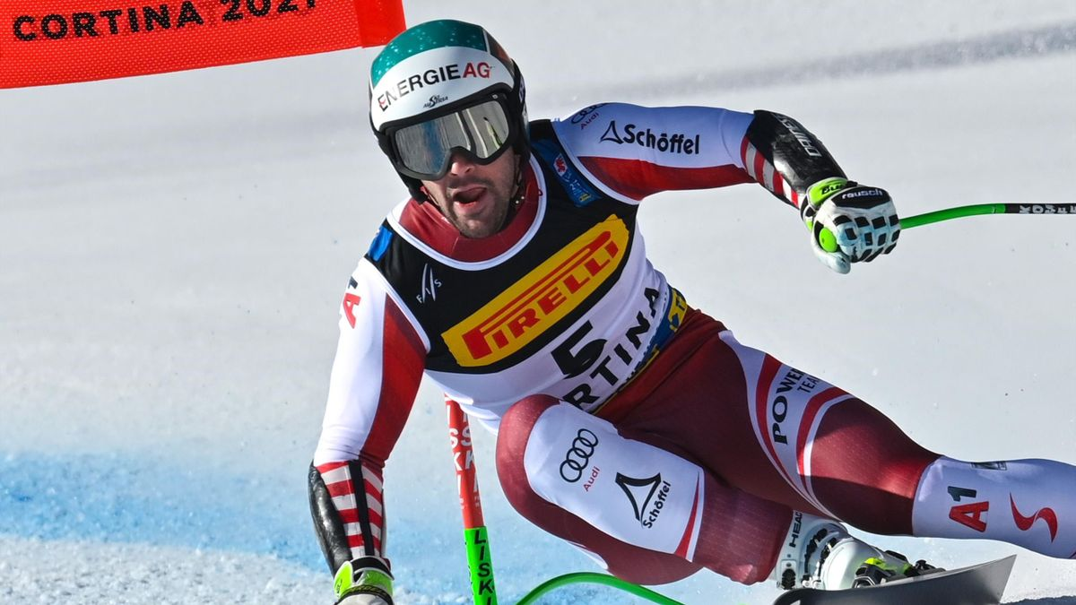 Vincent Kriechmayr wins super-G gold at the Alpine Ski World Championships