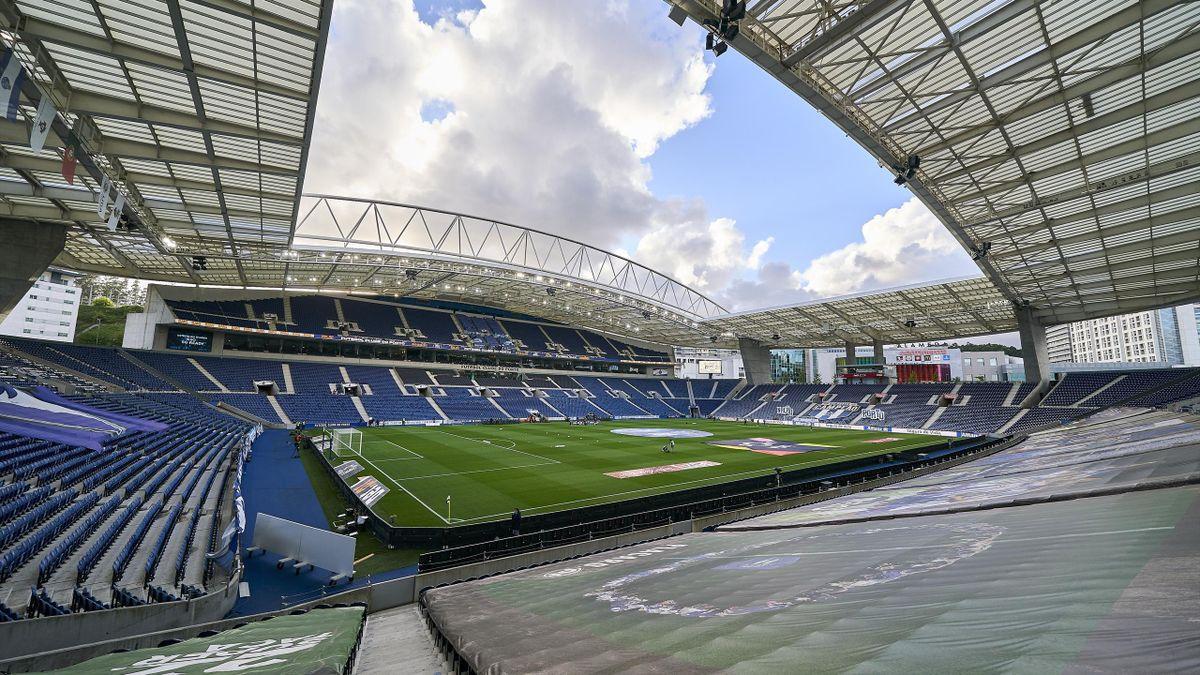 Le stade du Dragao, à Porto