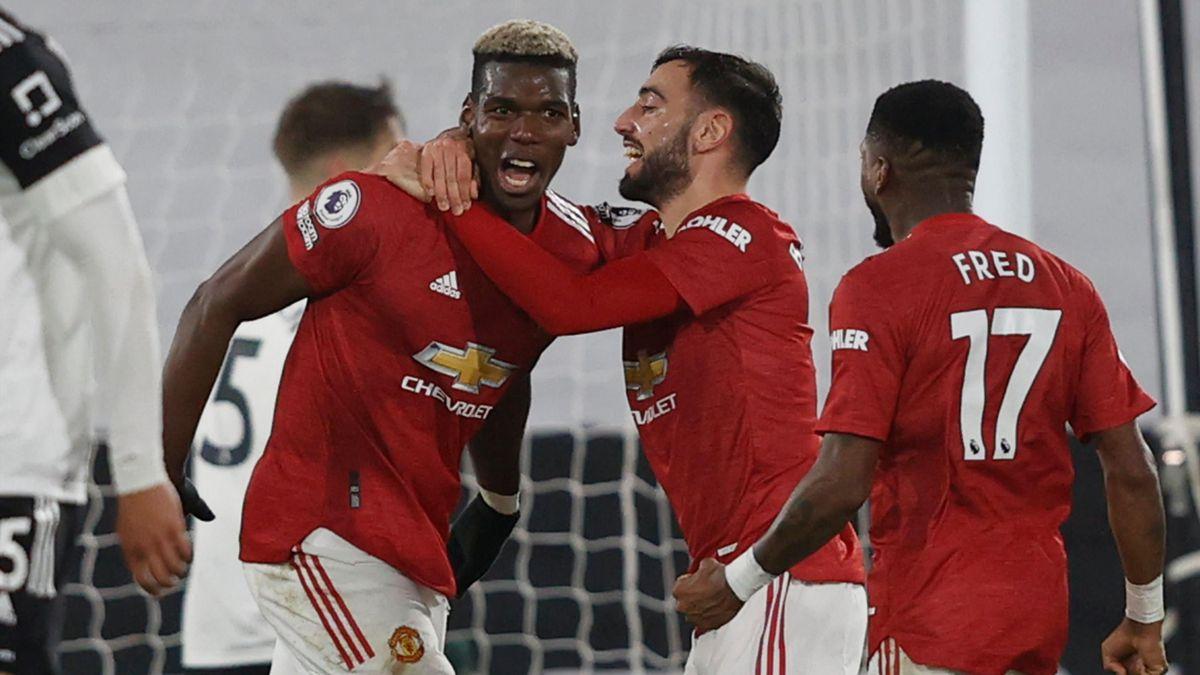 Paul Pogba, héros de Manchester United à Fulham