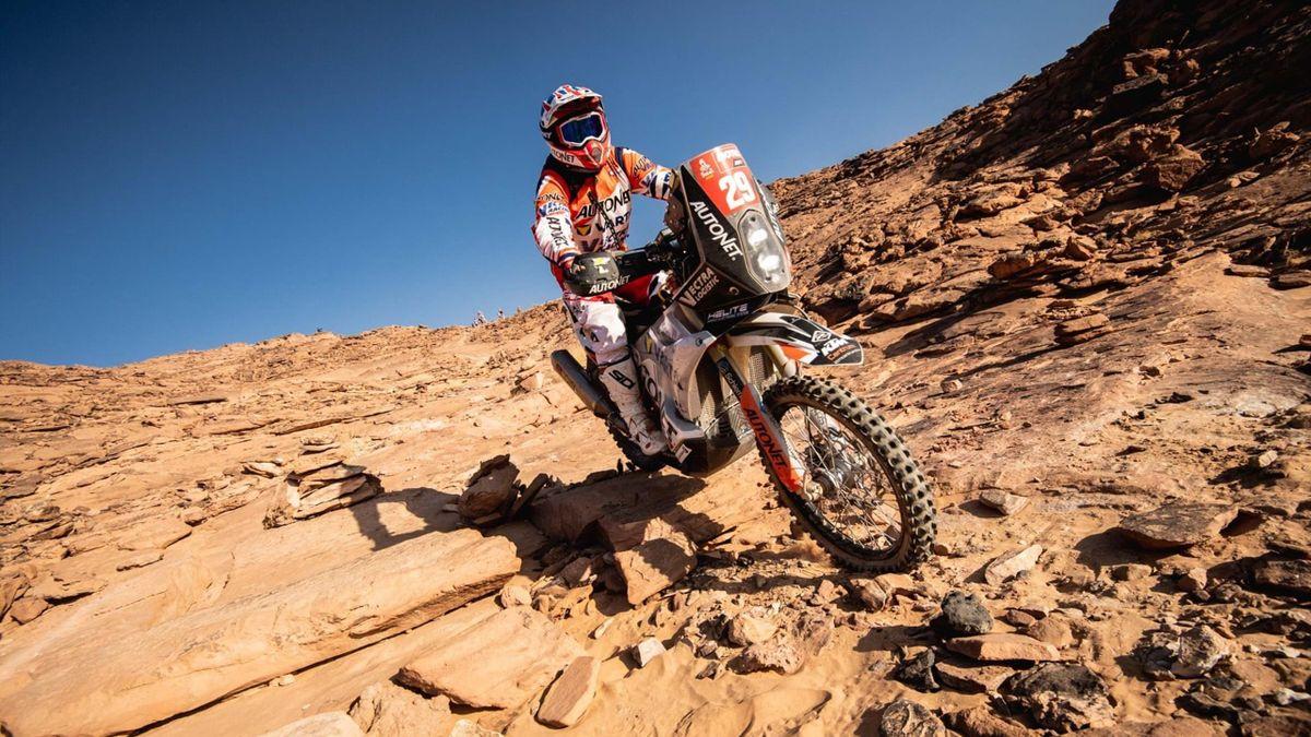 Emanuel Gyenes / Dakar 2021. Credit foto: Emanuel Gyenes Facebook