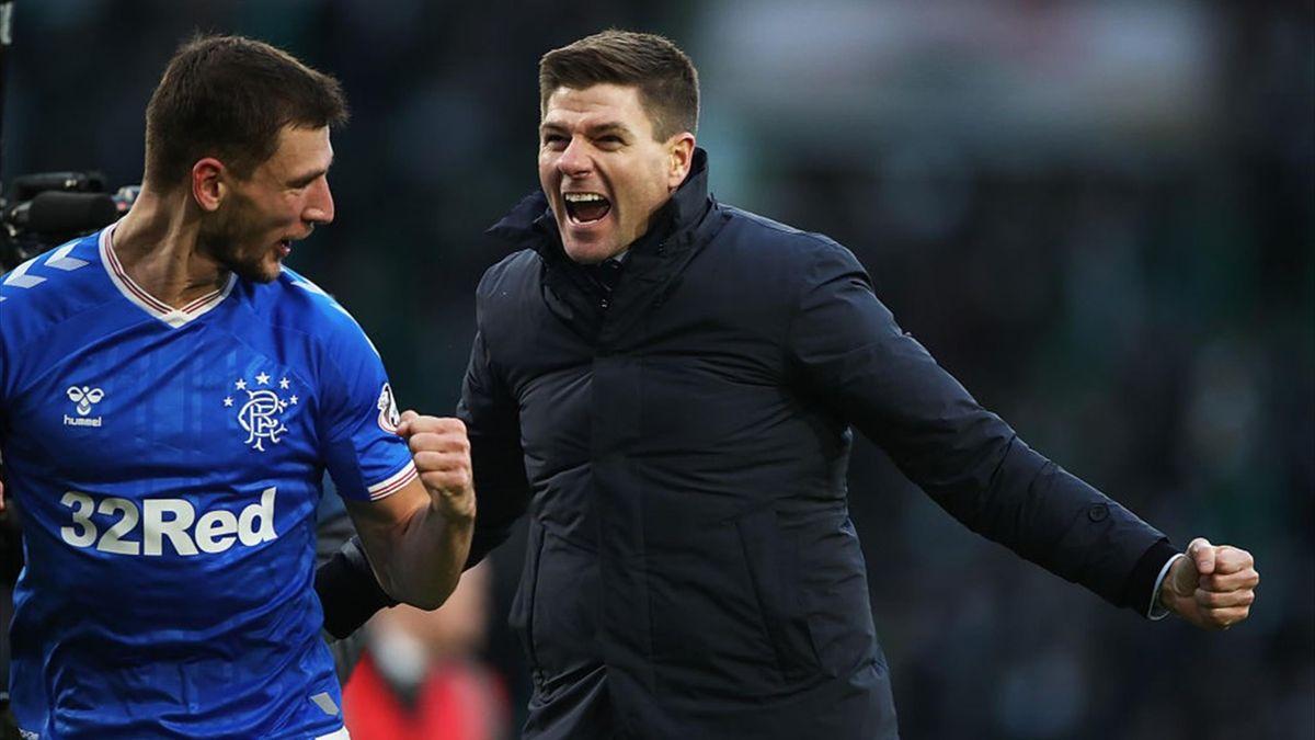 Glasgow Rangers Gerrard
