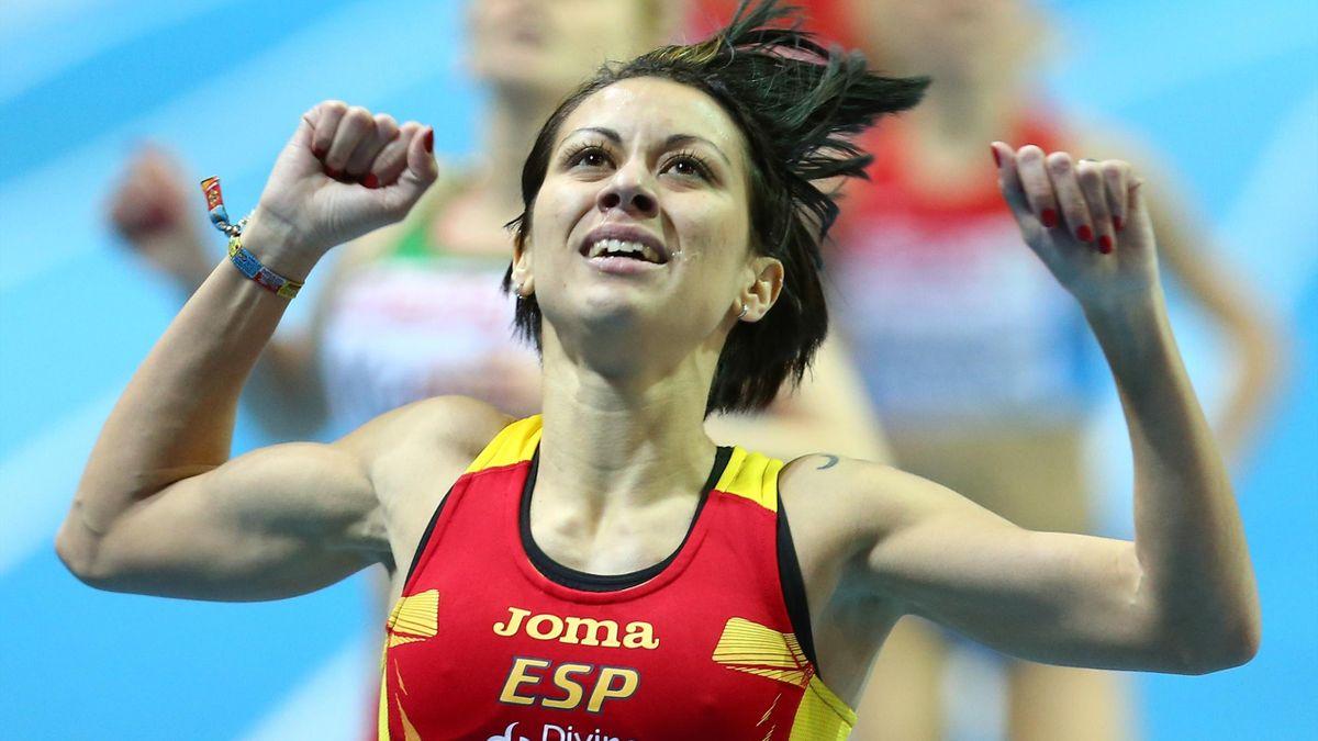 Isabel Macías (España). Campeonatos de Europa de atletismo 2013