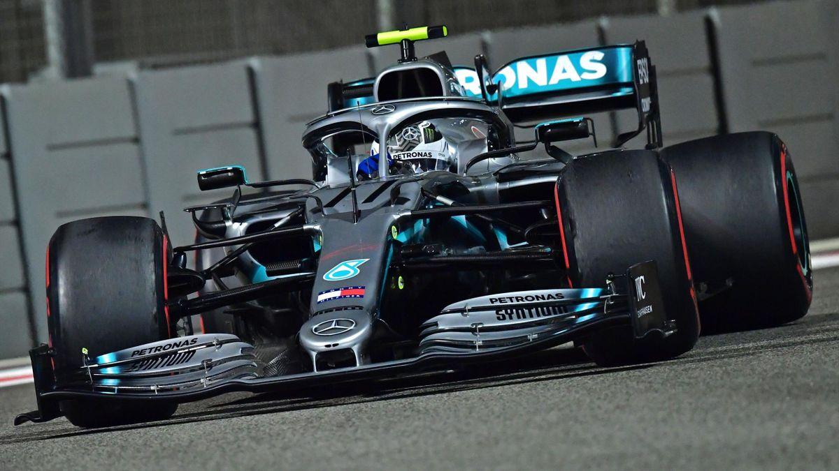 Valtteri Bottas (Mercedes) au Grand Prix d'Abou Dabi 2019