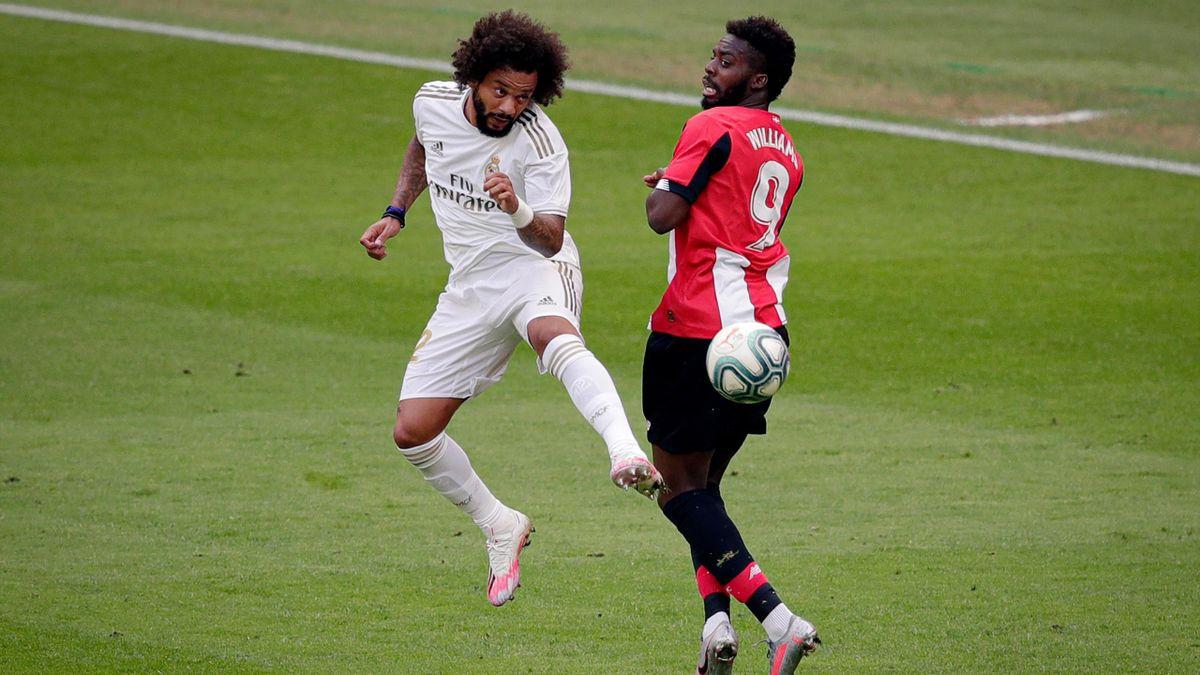 Marcelo (Real Madrid) a obținut un penalty controversat la Bilbao