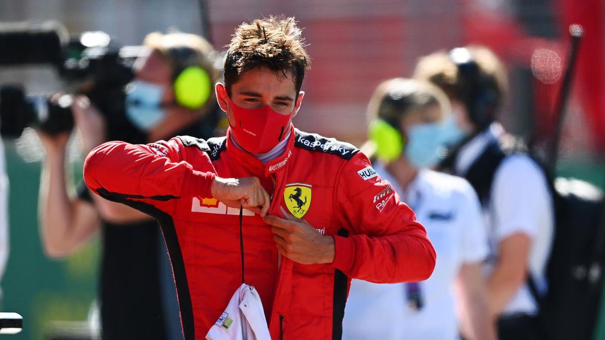 Charles Leclerc (Ferrari) lors du Grand Prix d'Autriche 2020, le 5 juillet 2020