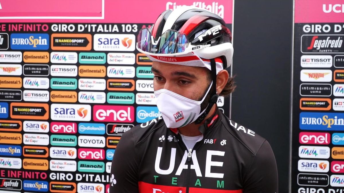 Giro d'Italia: Interview before start of Fernando Gaviria