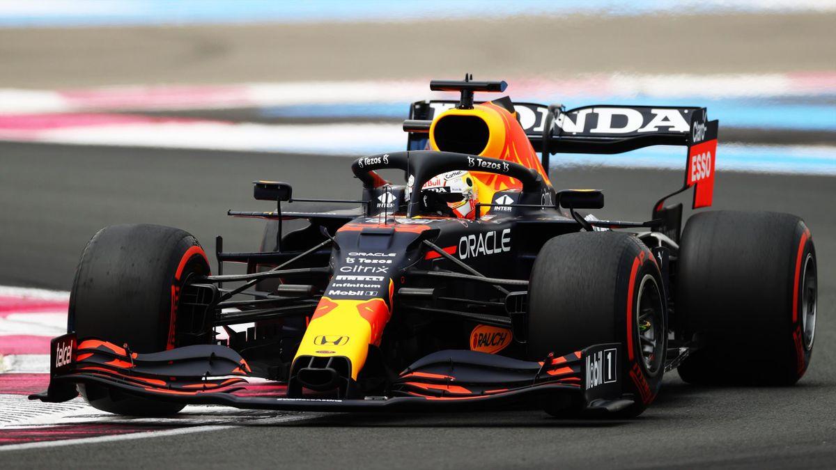 Max Verstappen im Red Bull