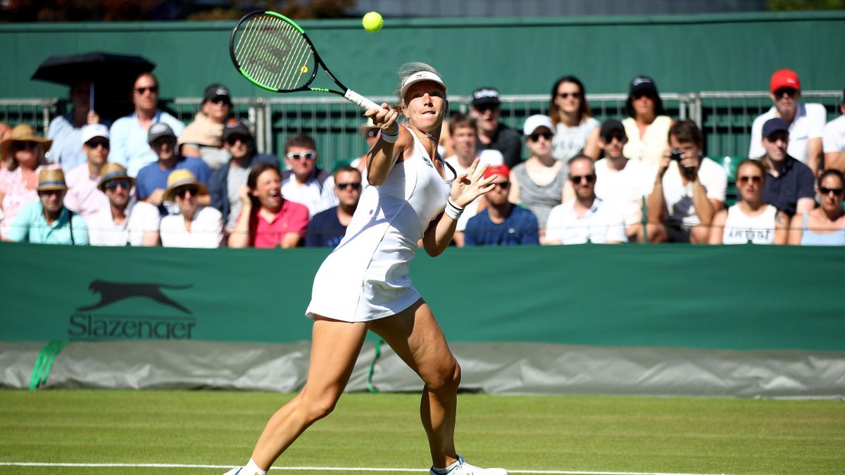 Kiki Bertens / Wimbledon 2018