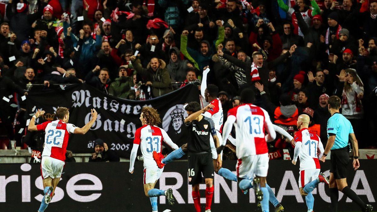 El Slavia de Praga elimina al Sevilla