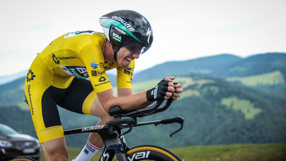 Gregor Mühlberger gewinnt Sibiu-Tour 2020 / © BORA - hansgrohe / Focus Photos Agency