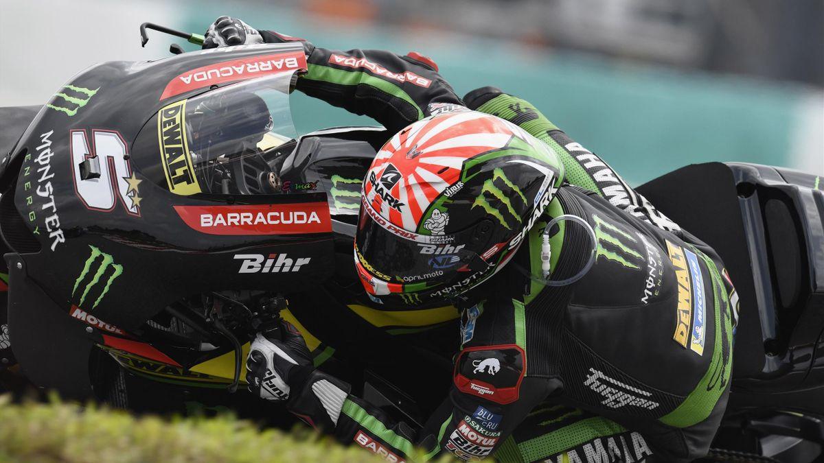 Johann Zarco (Yamaha Tech3) au Grand Prix de Malaisie 2018