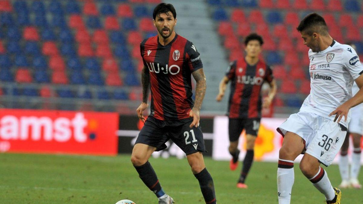 Roberto Soriano in Bologna-Cagliari