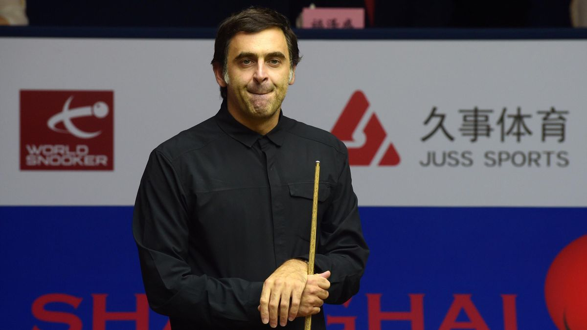 Ronnie O'Sullivan of England attends the break-off ceremony on day one of 2019 Shanghai Masters at Regal International East Asia Hotel on September 9, 2019 in Shanghai, China