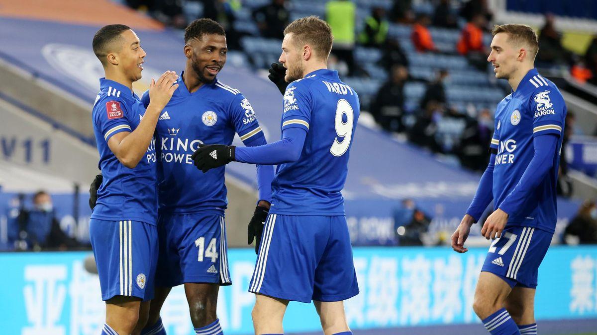 Youri Tielemans a marcat golul 2 a victoriei lui Leicester City, 3-1 cu Manchester United în sferturile FA Cup