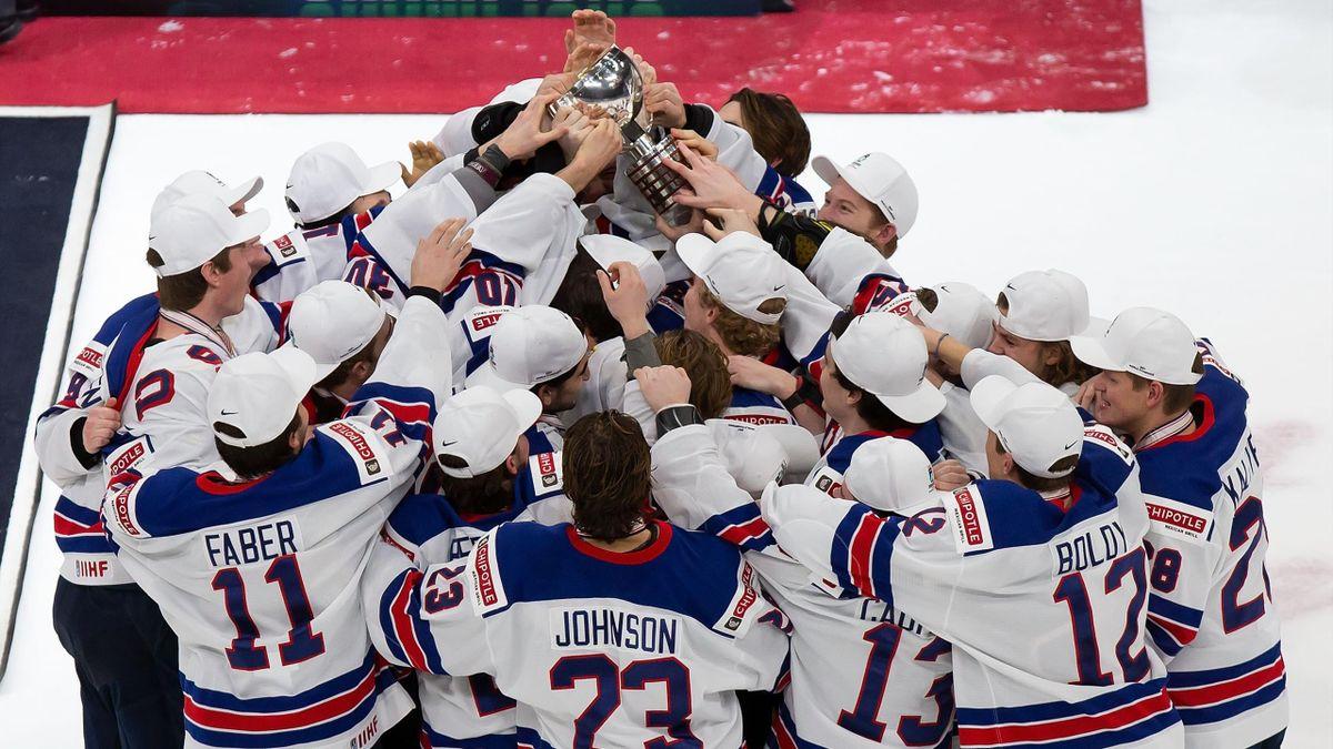 Сборная США – чемпион молодежного чемпионата мира по хоккею