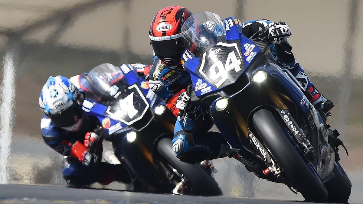 Doublé Yamaha sur les 24 heures du Mans moto.