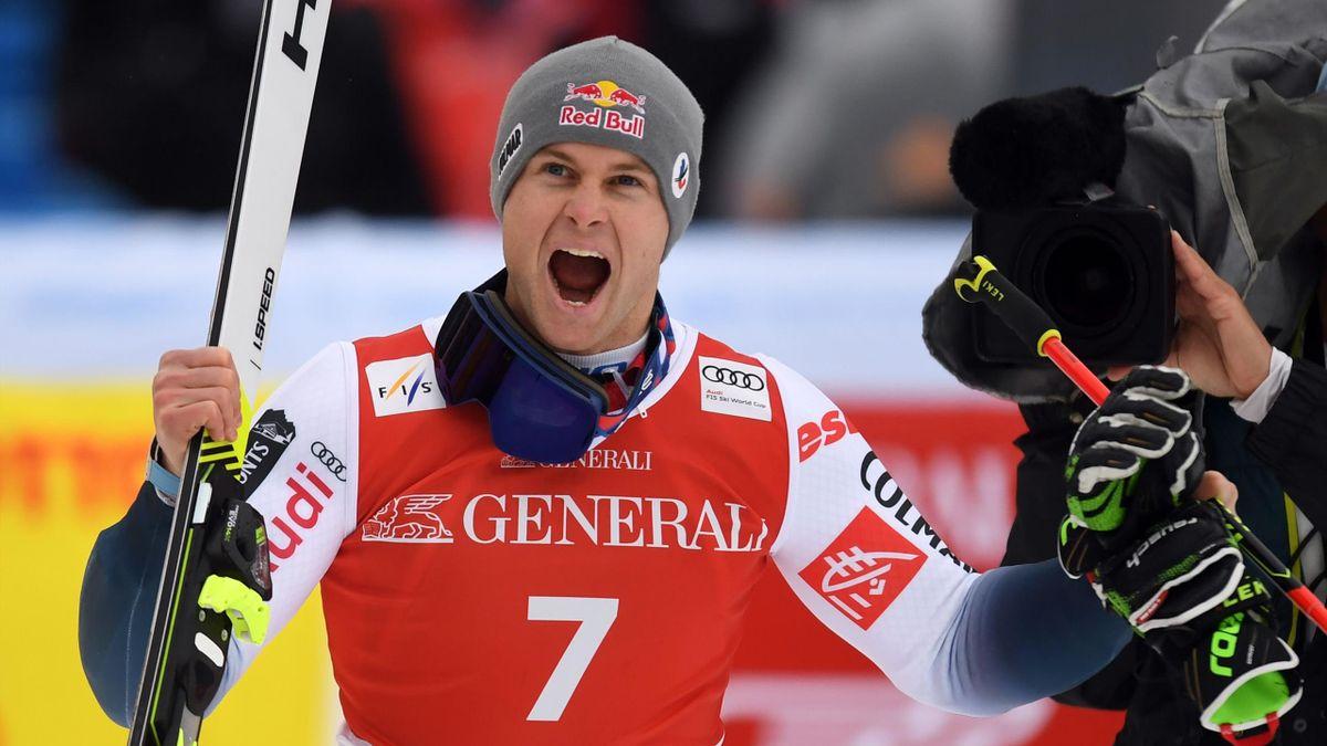 Alexis Pinturault, vainqueur du géant de Garmisch-Partenkirchen le 2 février 2020