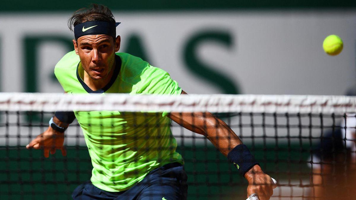 Rafael Nadal bei den French Open in Paris
