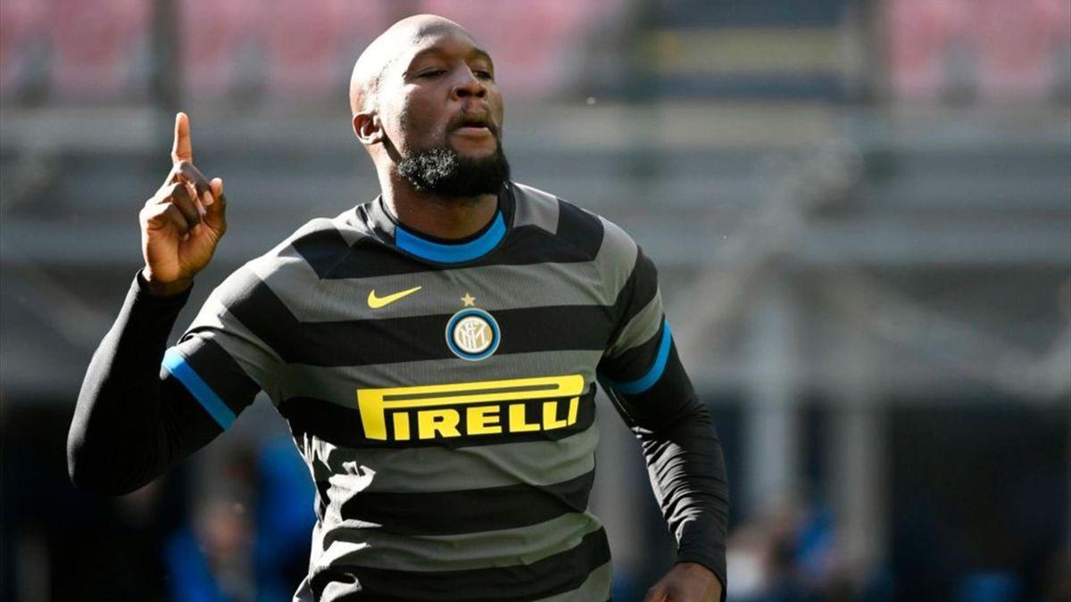 Lukaku a segno in Inter-Genoa - Serie A 2020/2021 - Getty Images