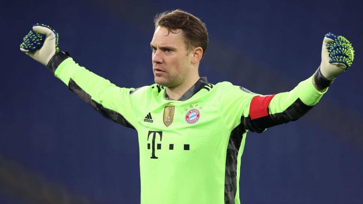 Neuer - Lazio-Bayern Monaco - Champions League 2020/2021 - Getty Images